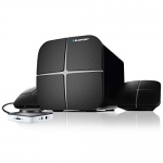 Blaupunkt SP-212 40 W Bluetooth Home Audio Speaker  (Black, 2.1 Channel)