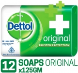 Dettol Original Soap – 125 g (Pack of 12)