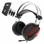 Gamdias HEBE E1 RGB Wired Headset with Mic(Black, Over the Ear)