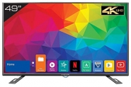 Best Deal Kevin 124.5 cm (49 inches) 4K Ultra HD Smart LED TV KN49UHD Pro (Black) (2019 Model)