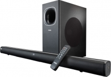 MarQ by Flipkart FS23S 120 W Bluetooth Soundbar(Black, Stereo Channel) ₹4499