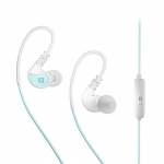 MEE Audio EP-X1-MTWT in-Ear Sports Headphones with Microphone and Remote (Mint and White)
