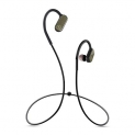 Plugtech Go Xtreme Wireless Bluetooth Headphones in Ear, Sports Earphones V4.2/ Upto 6 Hours Playtime/Microphone with Noise Reduction Technology/ IPX4 Waterproof, Wireless Headset for Jogging (Grey)