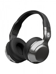Skullcandy Hesh 2 Bluetooth Headset with Mic(Silver Black, Over the Ear)