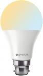 Smitch Wi-Fi White Ambience (2700-6500k) – (10W) B22 Base Smart Bulb
