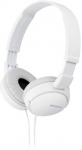 Sony MDR-ZX110 A Wired Headphone(White, Over the Ear)