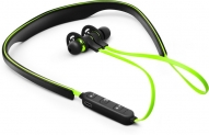 SoundLogic Stayfit Pro Bluetooth Headset with Mic(Green, In the Ear)