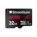 Strontium Nitro A1 32GB Micro SDHC Memory Card 100MB/s A1 UHS-I U1 Class 10