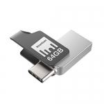 [Live @ 6PM]Strontium Nitro Plus 64GB Type-C USB 3.1 Flash Drive – OTG Mobile Pen Drive