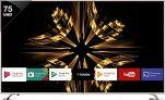 Vu 190cm (75 inch) Ultra HD (4K) LED Smart Android TV  (VU/S/OAUHD75)